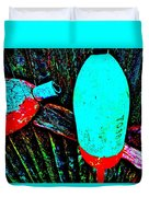 Mike's Art Fence 126 Duvet Cover