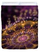 Mikroskopic I Duvet Cover by Sandra Hoefer