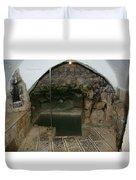 Mikvah - Ritual Pool - Of The Arizal Duvet Cover
