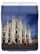 Milan Cathedral Duvet Cover
