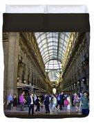 Milan Shopping Mall Duvet Cover