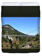 Mile-high Bridge Duvet Cover