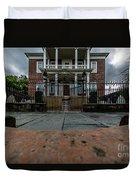 Miles Brewton House Circa 1765 Duvet Cover
