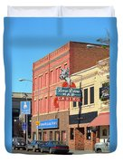 Miles City, Montana - Downtown Casino 2 Duvet Cover