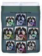 Miles Of Smiles Duvet Cover by DigiArt Diaries by Vicky B Fuller
