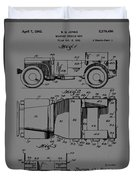 Military Vehicle Body Patent Drawing 1d Duvet Cover