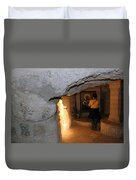 Milk Grotto Church Duvet Cover