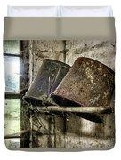 Milk Room Duvet Cover by John Greim