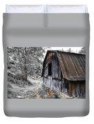 Milking Barn Duvet Cover