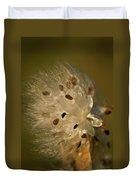 Milkweed Blast Duvet Cover