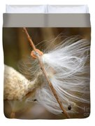 Milkweed Feathers Duvet Cover
