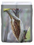 Milkweed Duvet Cover