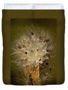 Milkweed Portrait Duvet Cover