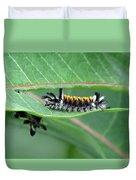 Milkweed Tussock Moth Caterpillar Duvet Cover