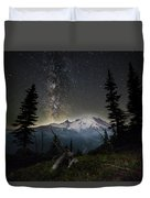 Milky Mountain Duvet Cover