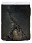Milky Way Delicate Arch Duvet Cover