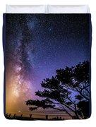 Milky Way In Newport, Or Duvet Cover