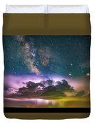 Milky Way Monsoon Duvet Cover
