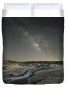 Milky Way Over The Texas Hill Country 2 Duvet Cover
