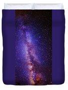 Milky Way Splendor Vertical Take Duvet Cover