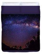 Milky Way Splendor Duvet Cover