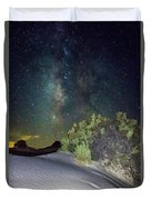 Milky Way White Sands Duvet Cover