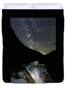 Milkyway Over Haystack Duvet Cover