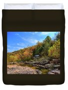 Mill By The Stream Duvet Cover