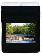 Mill Falls, Kejimkujik National Park, Nova Scotia Duvet Cover