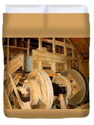 Mill Mechanism Duvet Cover