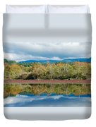Mill Pond Illusion Duvet Cover