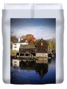 Mill Reflections Duvet Cover