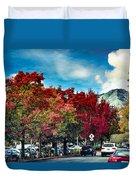 Mill Valley Autumn Duvet Cover