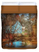 Mill - Walnford, Nj - Walnford Mill Duvet Cover