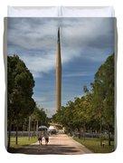 Millennium Monument Duvet Cover