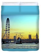 Millennium Sunset Duvet Cover