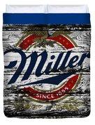 Miller Beer 5b Duvet Cover