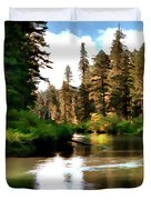 Millers Creek Painterly Duvet Cover