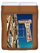 Milshire Hotel Chicago Duvet Cover