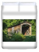 Milton Dye Covered Bridge  Duvet Cover