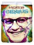 Milton Friedman Duvet Cover