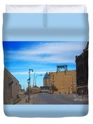 Milwaukee Cold Storage Co Duvet Cover