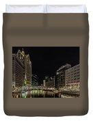Milwaukee Downriver Duvet Cover