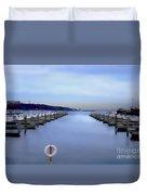 Milwaukee Marina November 2015 Duvet Cover