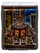 Milwuakee Fallen Firefighter Memorial Duvet Cover