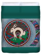 Mimbres Inspired #9a Duvet Cover
