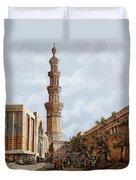 Minareto E Mercato Duvet Cover