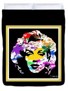 Mind Altering Marilyn Duvet Cover