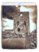 Mine Ruins Duvet Cover