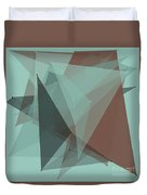 Mineral Polygon Pattern Duvet Cover